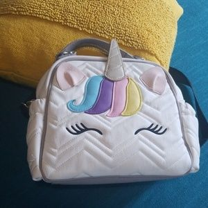 Betsey Johnson unicorn purse or diaper bag